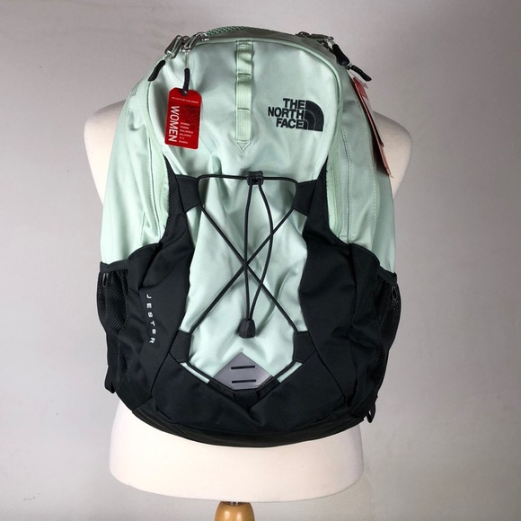 41bec26f9 Green Gray North Face Jester Women's Backpack